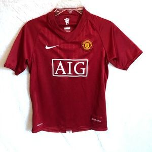 Nike Manchester United Home Jersey
